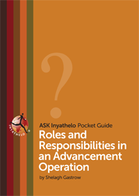 Roles and Responsibilities in an Advancement Operation (2014). By Shelagh Gastrow