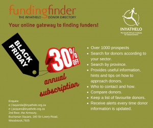 Funding Finder - Black Friday special
