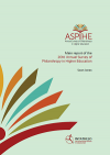 2016 Annual Survey of Philanthropy in Higher Education (ASPIHE) in South Africa.
