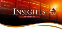 Insights - 3rd Sector Law: The New Companies Act no.71 of 2008: What every non-profit needs to know.